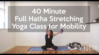 40 Minute Full Hatha Yoga Class