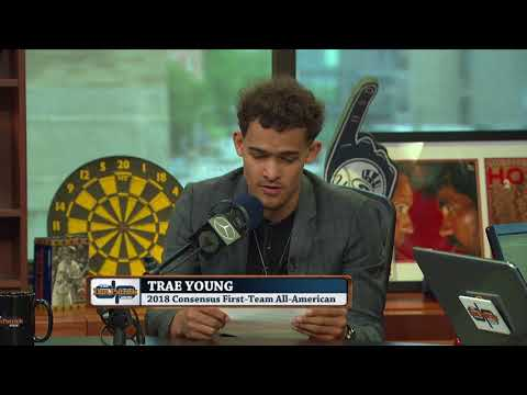 Trae Young Reads The Good, The Bad & The Ugly Of His Draft Profile  The Dan Patrick Show  61918