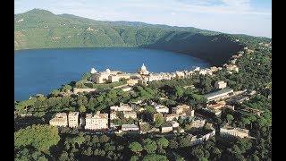 Lake Albano or Lake of Castel Gandolfo (Volcanic Lake near Rome)