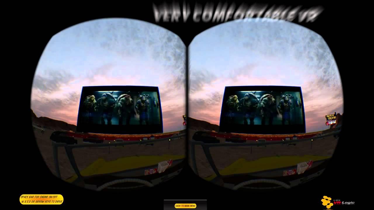 Infinity VR Drive In Trailer