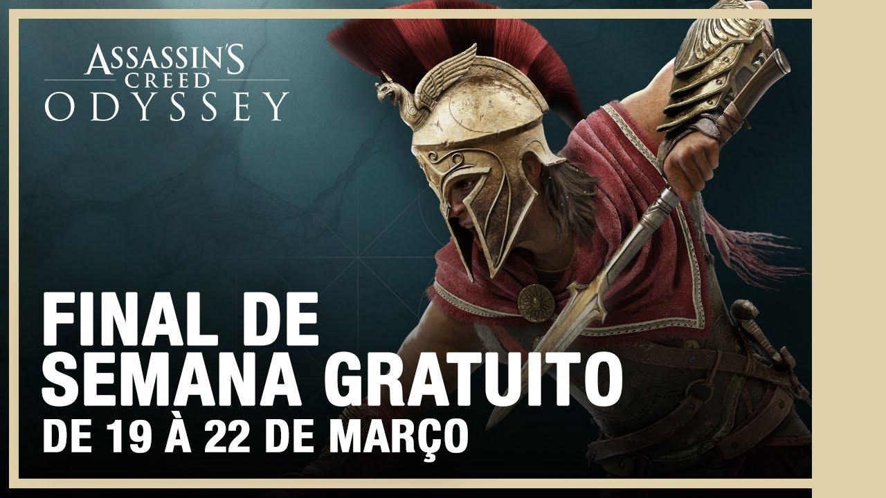 FIM DE SEMANA GRÁTIS - Assassin's Creed Odyssey
