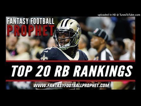 Top 20 Running Back Rankings 2018