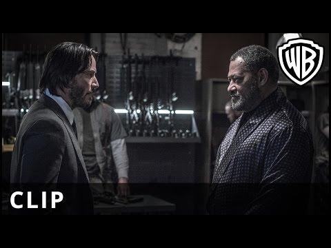 "John Wick: Chapter 2 – ""Gun"" Clip - Warner Bros. UK"