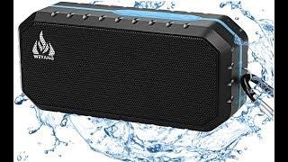 cool speaker review, Bluetooth Wireless Speakers Waterproof IPX5!