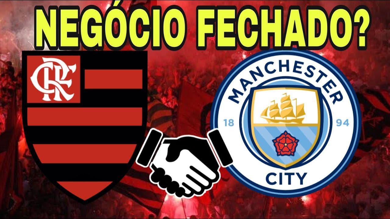 FLAMENGO FECHA ACORDO COM MANCHESTER CITY!? GLOBO VAI A JUSTIÇA!