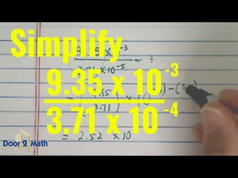 scientific notation definition