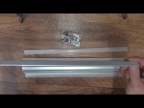 Алюминиевый профиль для светодиодной ленты с Aliexpress