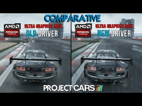 Project CARS Comparison - AMD ATI DRIVER NEW Vs OLD - Audi R8 LMS GT3 @ Nurburgring