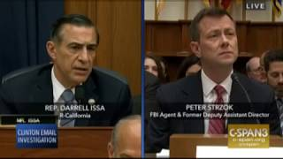Issa asks Strzok to read personal texts July 12 2018