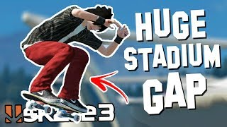 Skate 3: MASSIVE SPEED GLITCH GAP!? | Epic Challenges