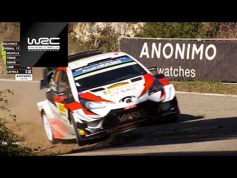 WRC 2019: Official WRC Timing Partner ANONIMO
