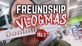 FREUNDSHIP Vlogmas Tag 2 // Der YouTube Adventskalender - Es wird weihnachtlich