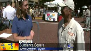 CBS11 / KTVT-TV: MAIN ST. Fort Worth Arts Festival Special Segment - Sunday, April 22, 2012