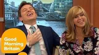 Ben Shephard Teases Kate Garraway With Age Joke | Good Morning Britain