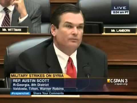 Rep. Scott at HASC hearing on Proposed Authorization to Use Military Force in Syria