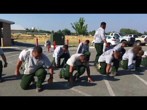 American Samoa Fire Crew sings - War chant