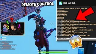 *THIS IS GAME BREAKING!* I Found out How to Control the Fortnite Bots...