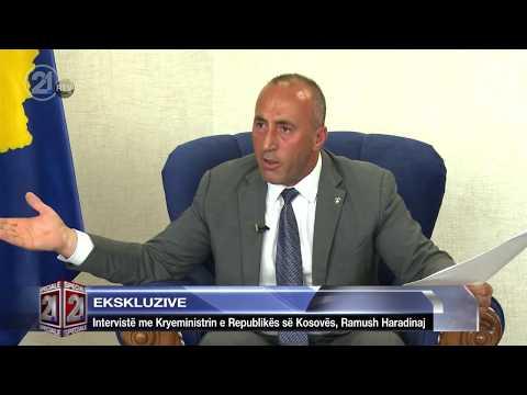 Ekskluzive - Intervistë me Kryeministrin e Republikës së Kosovës, Ramush Haradinaj