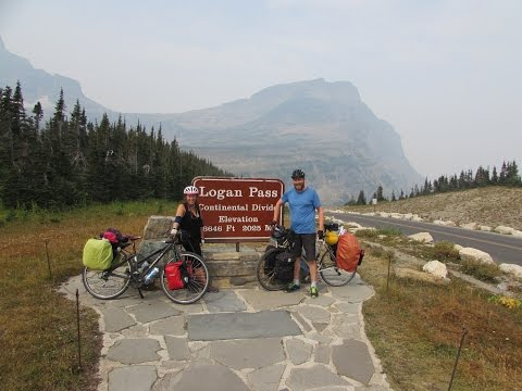 The Big Bike Trip: An English couples bicycle tour across North America
