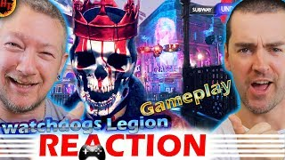 GAMEPLAY REACTION! Watch Dogs Legion - E3 2019