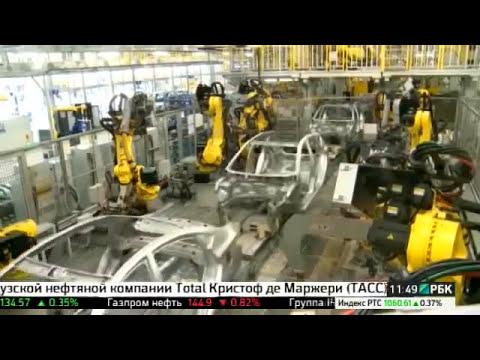 Производство автомобилей Hyundai Хендай. Сделано в России