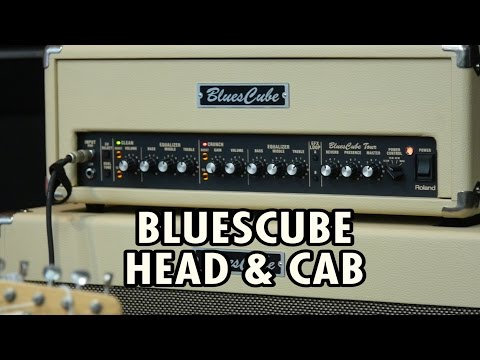 Roland Blues Cube Tour Head and Cab with Cranbourne Music