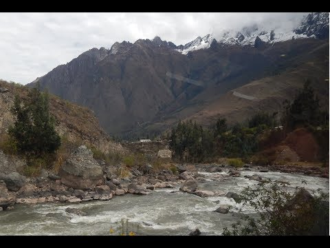 journey by train (vistadome) Cusco to Aguas Calientes (Machu Picchu), Peru (HD)