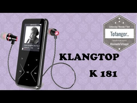 KlangTop K181: MP3 player