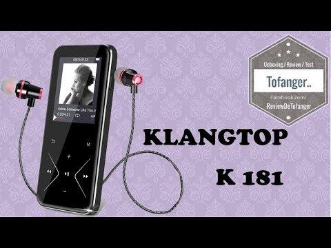 KlangTop K181 : Baladeur MP3