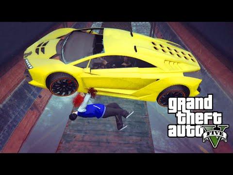 GTA 5 Online PC   RUNNERS vs CARS   GTA 5 Funny Moments