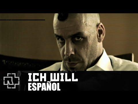 RAMMSTEIN - ICH WILL   SUB ESPAÑOL