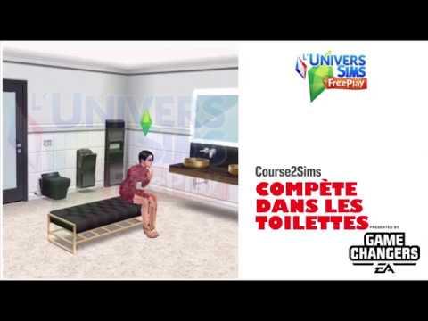 The Sims Freeplay-Compète dans les toilettes-Accès Anticipé