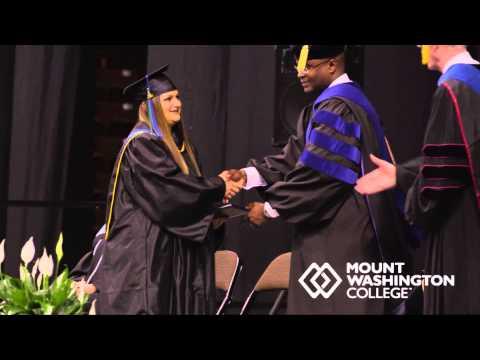 2014 Mount Washington College Graduation for Associate of Business Science - Business Admin (JPC)