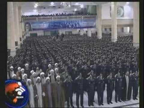 Iranian Air Force Officers Visit Leader Ayatollah Khamenei