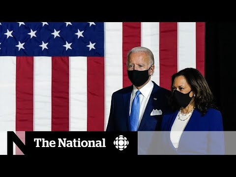 CBC News: The National: Biden and Harris take on Trump in first appearance as running mates
