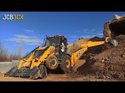 Dangerous Work | JCB 3CX Is Going To Dig Trenches Today