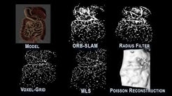 Augmented Reality for Depth Cues in Monocular Minimally Invasive Surgery
