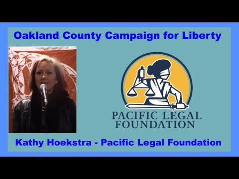 Pacific Legal Foundation - Kathy Hoekstra