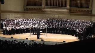 MMEA All-State Festival Chorus 2014, Famine Song