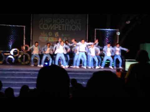Hinugyaw Festival 2017 Mindanao Hip Hop Competition 1st runner up