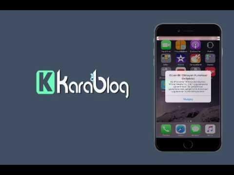 iphone jailbreak olmadan uygulama yükleme