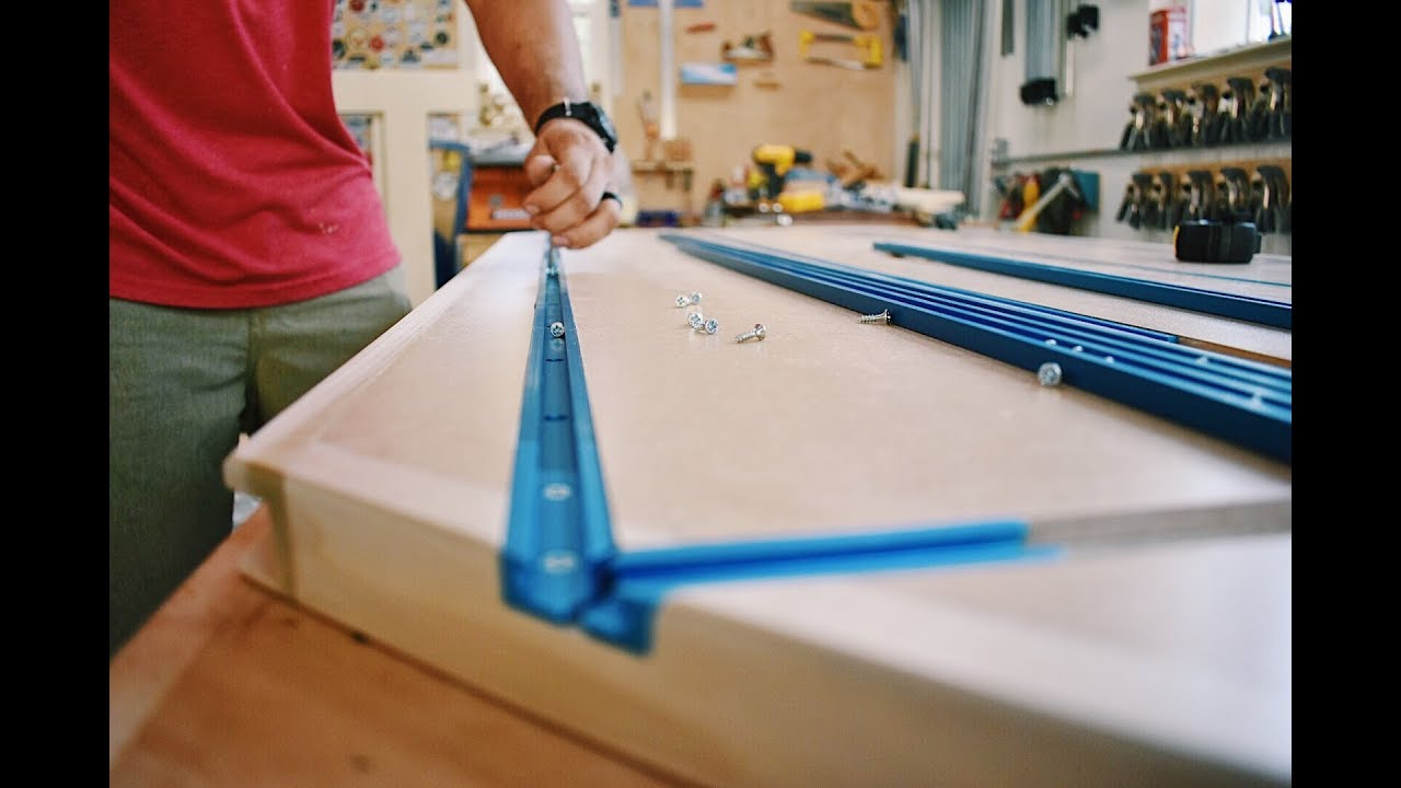 Building A Portable Workbench With Rockler T Track Youtube