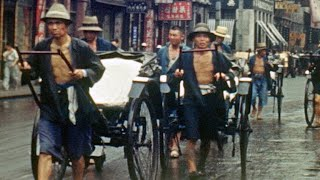 The Japanese Invasion of Shanghai Captured in Color