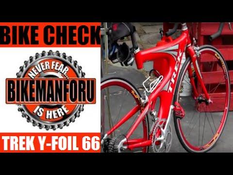 Trek Y Foil 66 Beam Frame Oclv Carbon Road Race Tri