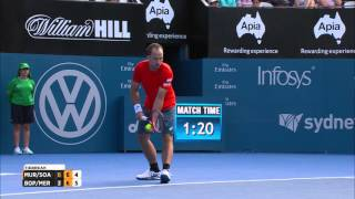 Murray & Soares battle back in tieback (final)