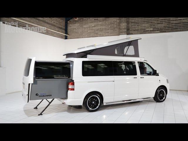 Vw Camper Uitschuifbaar.Practical Motorhome Danbury Doubleback Camper Review Youtube