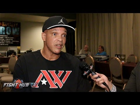 Virgil Hunter reacts to Mayweather vs. McGregor becoming official
