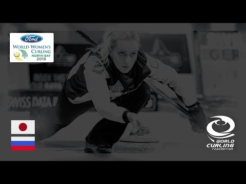 Japan v Russia - Round-robin - Ford World Women's Curling Championships 2018