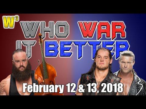 Braun Strowman, Musician! Corbin & Ziggler Fight for a Title Shot! | Who War It Better