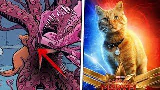 Кто такой кот Гусь из Капитан Марвел? Объясняю по фигуркам FUNKO